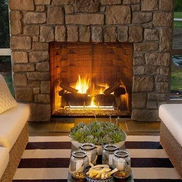 Heat & Glo Carolina Gas Fireplace