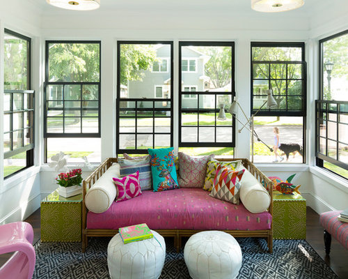 Eclectic Sunroom Newark