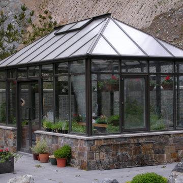 Hip Roof Garden Room