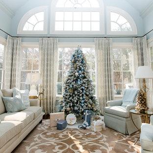 Holiday Decorating- Blue Velvet Christmas