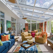 Traditional Sunroom by JML Interior Design