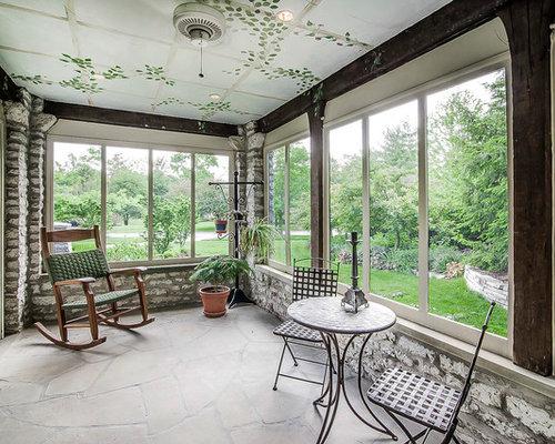 Best Rustic Columbus Sunroom Design Ideas Remodel