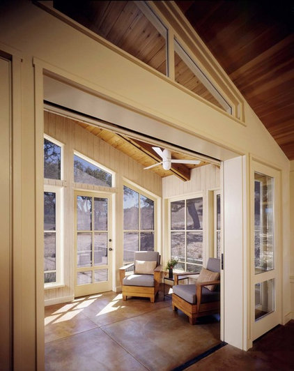 Contemporary Sunroom by Cathy Schwabe Architecture