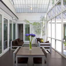 Transitional Sunroom by Anthony Wilder Design/Build, Inc.
