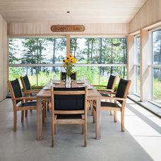 Contemporary Sunroom by Elliott + Elliott Architecture