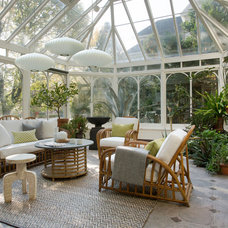 Traditional Sunroom by lisa k. tharp - k. tharp design