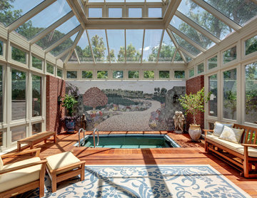 Indoor Patio and Pool