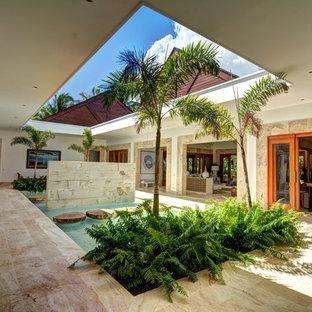 Idéer för stora tropiska uterum
