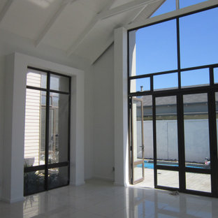 Interior glass panels
