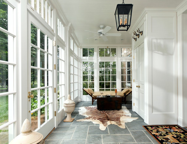 Traditional Sunroom by KohlMark Architects and Builders