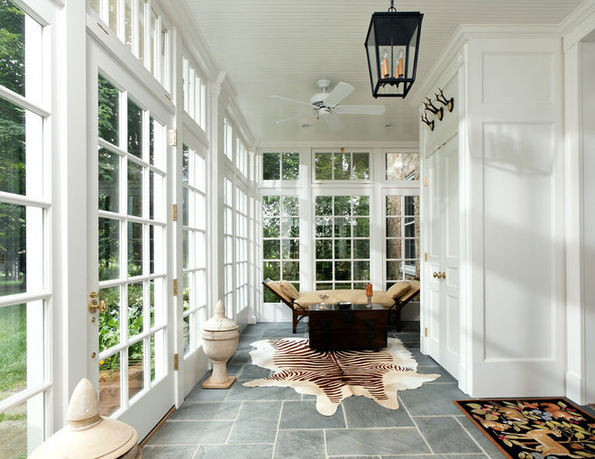 traditional porch by KohlMark Architects and Builders