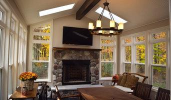 Sunroom w/ Fireplace - Mattawan