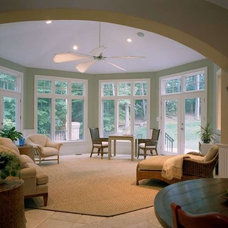 Traditional Sunroom by Natelli Homes