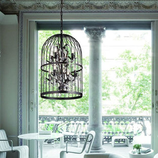 Kailani Oil Rubbed Bronze Bird Cage 8 Light Crystal Chandelier