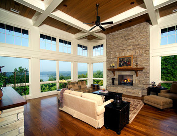 Keowee Vineyards Residence Living Room