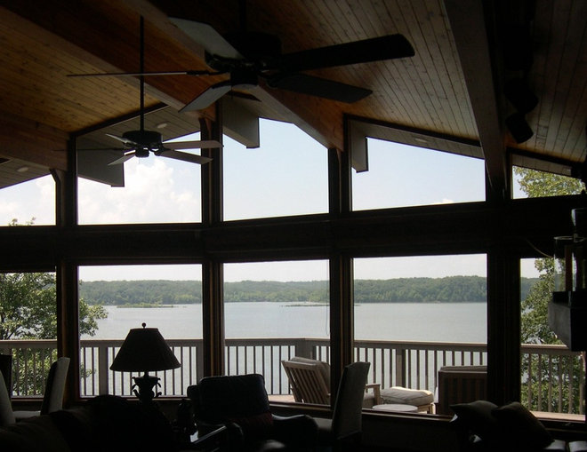 Traditional Sunroom by Solar Insulation Window Films