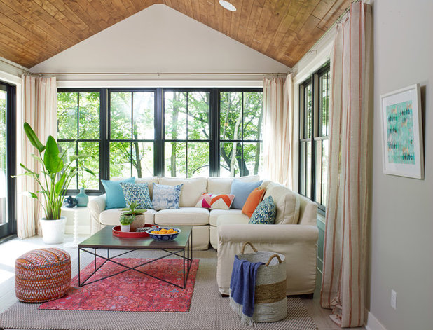 Trending now 6 ideas from the most popular new sunrooms on houzz