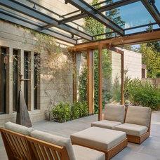 Contemporary Sunroom by Scott Allen Architecture