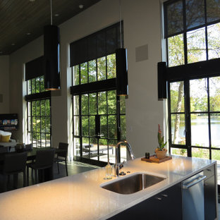 Lakeside Getaway Home (Featuring Lutron Motorized Solar Roller Shades)