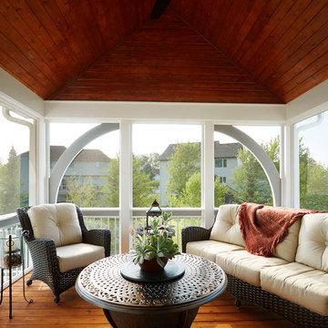 Lino Lakes Screen Porch Retreat