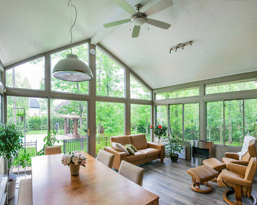 4 Season Sunroom Home Design Ideas Pictures Remodel And