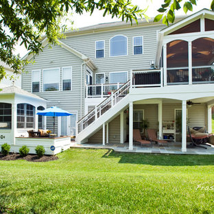 Screened Porch With Hot Tub Houzz