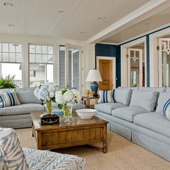 traditional family room by Anita Clark Design