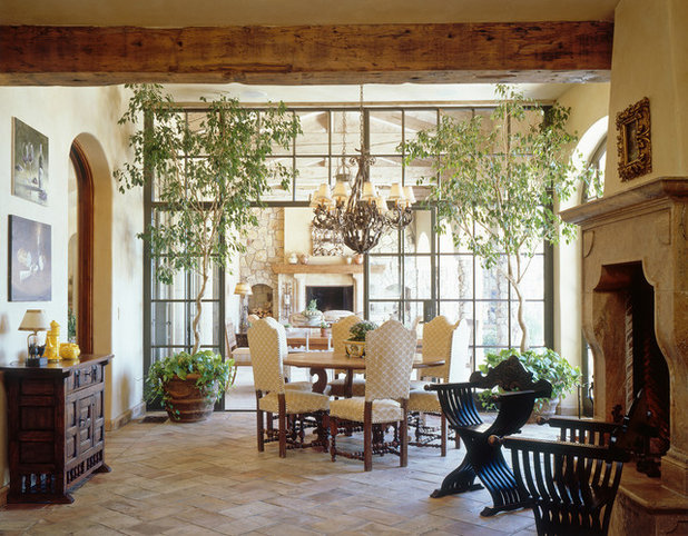Mediterranean Sunroom by Island Architects