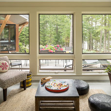 Contemporary Sunroom by Whitten Architects