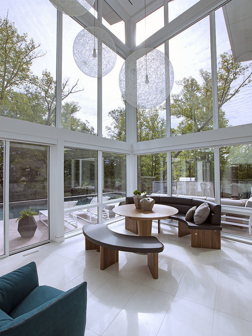 Expansive Sunroom Design Ideas Remodels Photos Houzz
