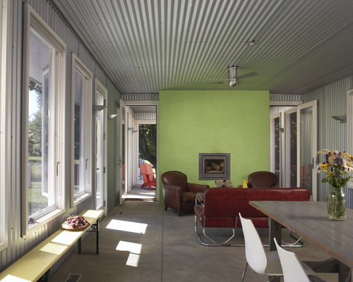 Corrugated Metal Ceiling Houzz