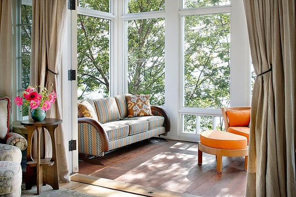 Traditional Sunroom by Alan Design Studio