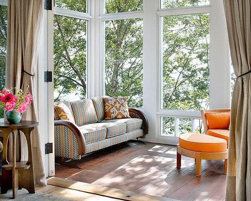 Large sunroom windows houzz for Large windows for sunroom