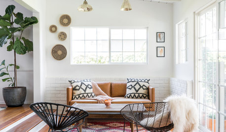 Houzz Tour: California Ranch Mixes Midcentury and Bohemian Styles