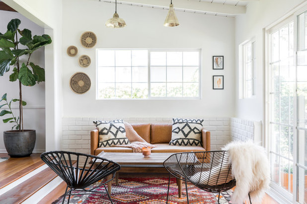 Midcentury Sunroom by Oh beauty Interiors