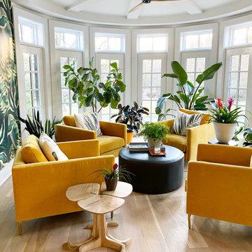 Contemporary Sunroom