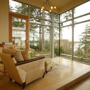 Modern Northwest Lake House