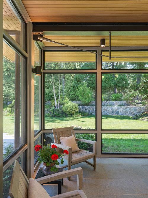 Eastern Red Cedar Sunroom Design Ideas Renovations Photos