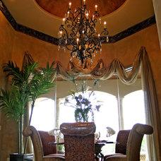 Mediterranean Living Room by Diamante Custom Homes