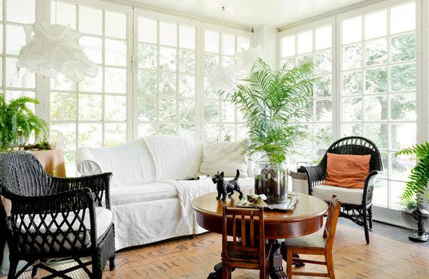 Traditional Sunroom by Rikki Snyder