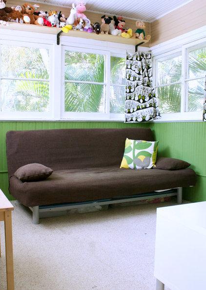 Traditional Sunroom by Mina Brinkey