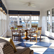 Traditional Sunroom by Jeannie Balsam LLC