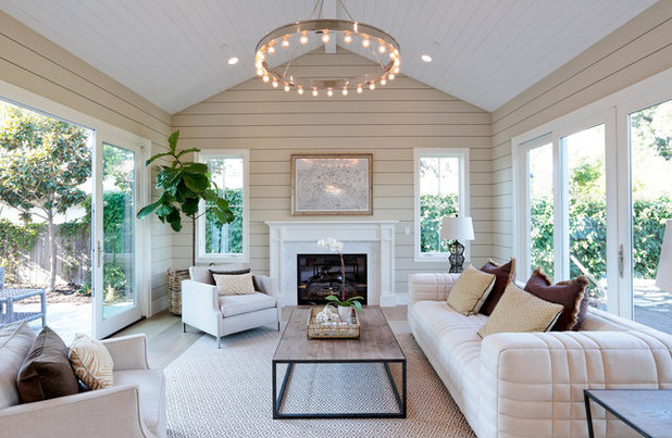 Transitional Sunroom by Napoleon At Home