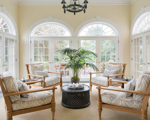 Sunroom Traditional Sunroom Idea In New York