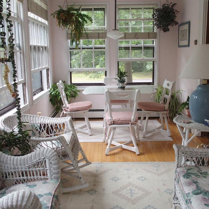 New Chair Cushions for Sun Porch
