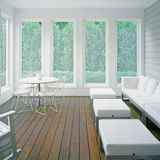 Contemporary Porch by Harry Elson Architect PC