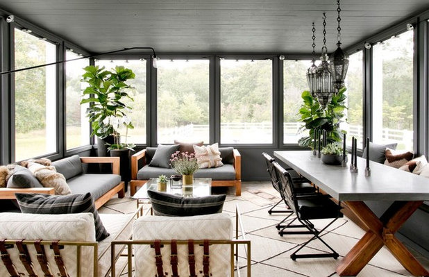 Farmhouse Sunroom by Timothy Godbold Ltd