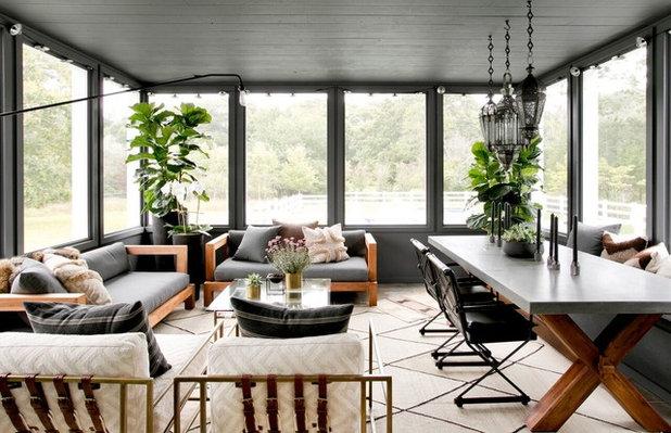Farmhouse Sunroom by Timothy Godbold Ltd