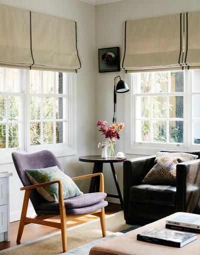 Eclectic Sunroom by No Chintz