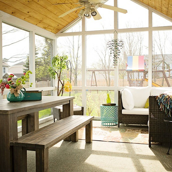 Northwest Chicago Sunroom